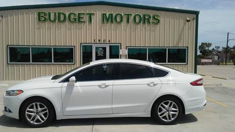 2016 Ford Fusion for sale at Budget Motors in Aransas Pass TX