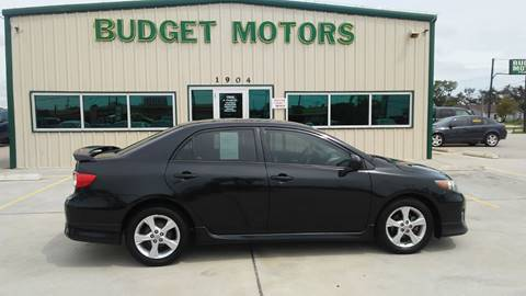2012 Toyota Corolla for sale at Budget Motors in Aransas Pass TX