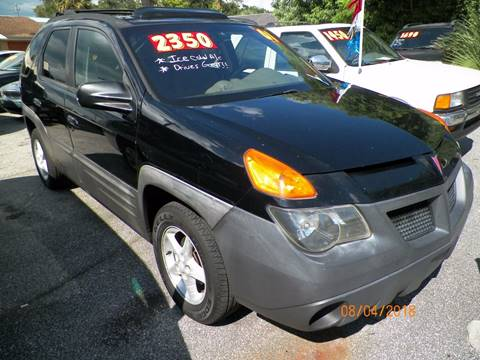 2001 Pontiac Aztek for sale in Deland, FL