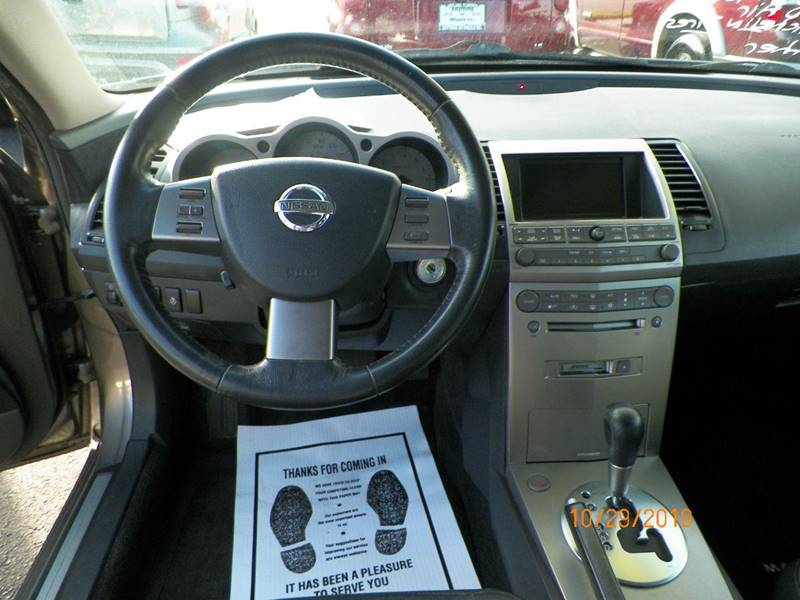 2004 Nissan Maxima 3 5 Se 4dr Sedan In Deland Fl Anything