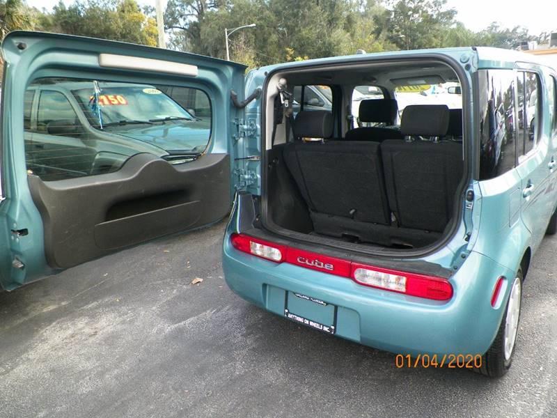 2011 Nissan Cube 1 8 4dr Wagon In Deland Fl Anything On Wheels Inc