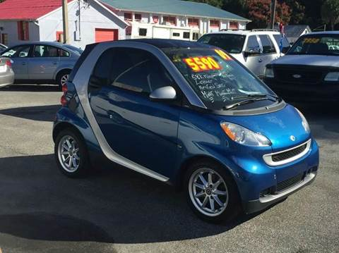2009 Smart fortwo for sale at ANYTHING ON WHEELS INC in Deland FL