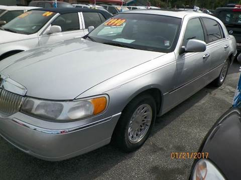 1999 Lincoln Town Car for sale at ANYTHING ON WHEELS INC in Deland FL