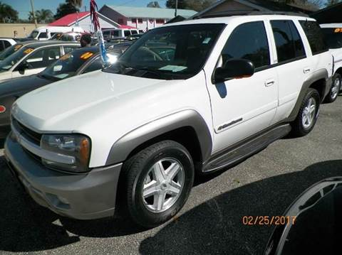 2002 Chevrolet TrailBlazer for sale at ANYTHING ON WHEELS INC in Deland FL