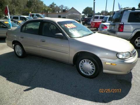 2003 Chevrolet Malibu for sale at ANYTHING ON WHEELS INC in Deland FL