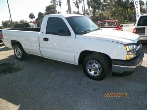 2003 Chevrolet Silverado 1500 for sale at ANYTHING ON WHEELS INC in Deland FL