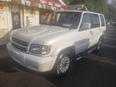 2001 Isuzu Trooper Limited for sale at ANYTHING ON WHEELS INC in Deland FL