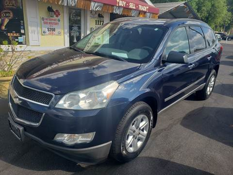 2011 Chevrolet Traverse LS for sale at ANYTHING ON WHEELS INC in Deland FL