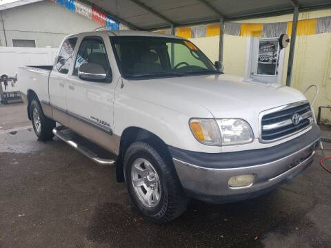 2000 Toyota Tundra SR5 for sale at ANYTHING ON WHEELS INC in Deland FL