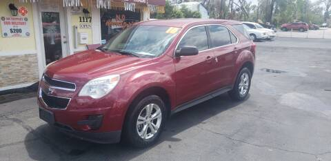 2010 Chevrolet Equinox for sale at ANYTHING ON WHEELS INC in Deland FL