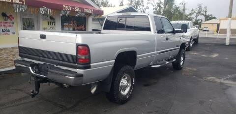 2002 Dodge Ram Pickup 2500 for sale at ANYTHING ON WHEELS INC in Deland FL