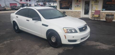 2012 Chevrolet Caprice for sale at ANYTHING ON WHEELS INC in Deland FL