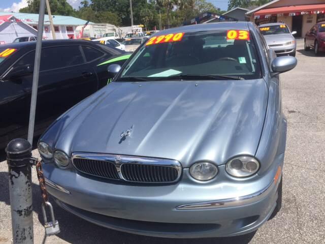 2003 Jaguar X-Type AWD 2.5 4dr Sedan - Deland FL