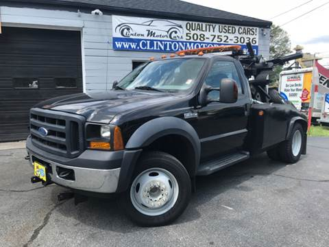 2007 Ford F-550 for sale in Shrewsbury, MA