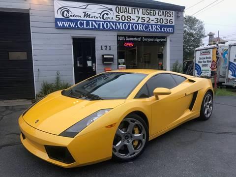 Lamborghini Gallardo For Sale in Massachusetts  Carsforsalecom