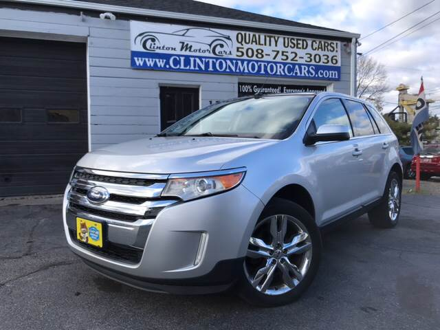 Ford Edge For Sale At Clinton Motorcars In Shrewsbury Ma