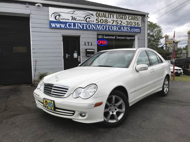 2007 Mercedes Benz C Class For Sale At Clinton MotorCars In Shrewsbury MA