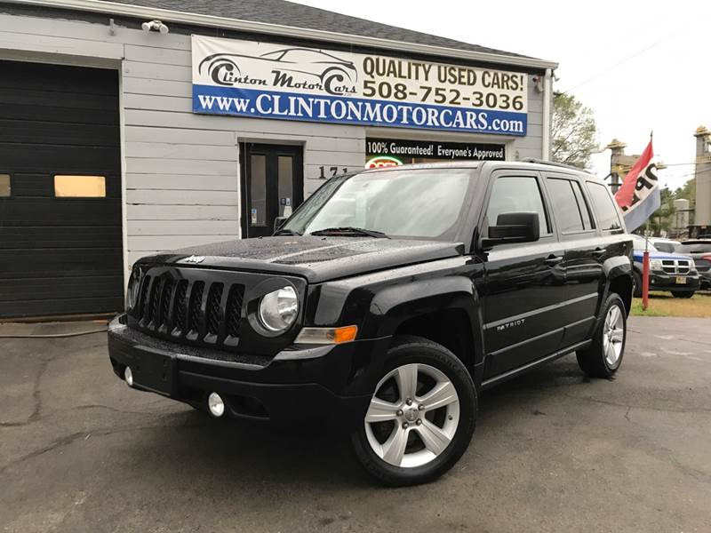 2012 Jeep Patriot For Sale At Clinton MotorCars In Shrewsbury MA