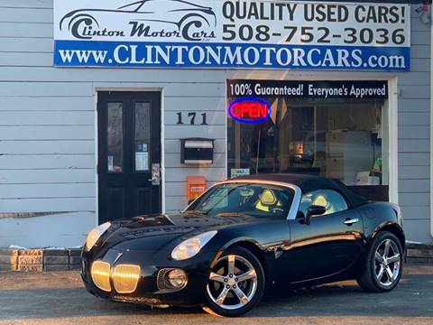 2008 Pontiac Solstice for sale in Shrewsbury, MA