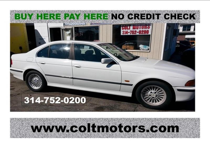 1997 BMW 5 Series for sale at COLT MOTORS in Saint Louis MO