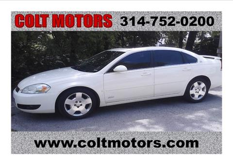 2007 Chevrolet Impala for sale at COLT MOTORS in Saint Louis MO