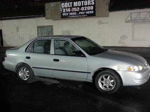 2000 Toyota Corolla for sale at COLT MOTORS in Saint Louis MO
