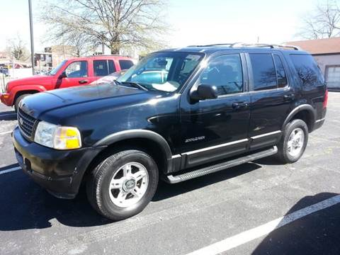 2002 Ford Explorer for sale at COLT MOTORS in Saint Louis MO