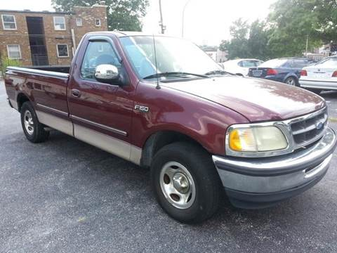 1997 Ford F-150 for sale at COLT MOTORS in Saint Louis MO