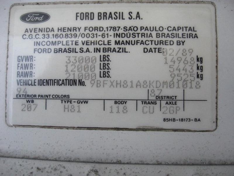 1989 Ford CF8000  - Saint Louis MO
