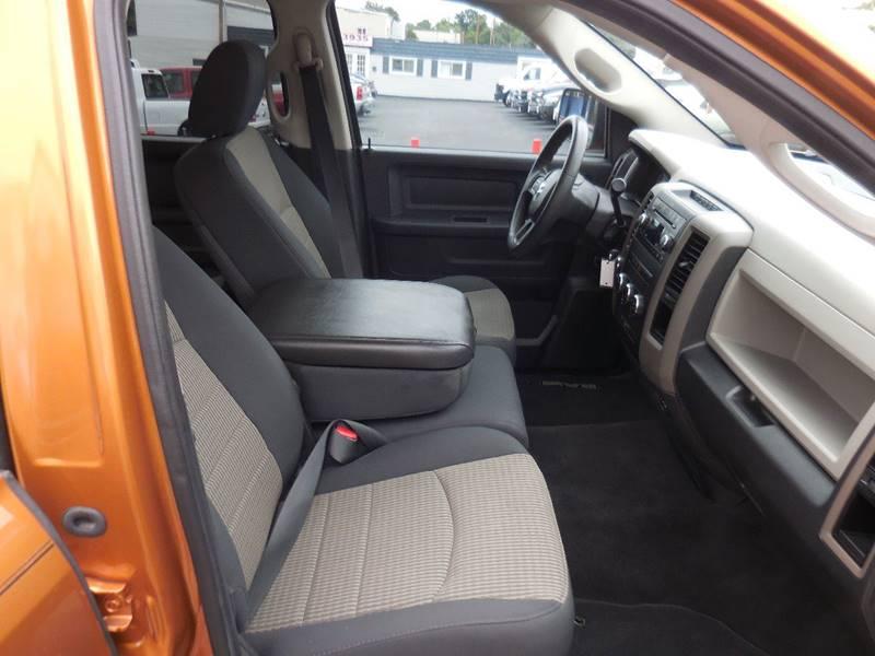 2012 RAM Ram Pickup 1500 4x4 ST 4dr Quad Cab 6.3 ft. SB Pickup - Baltimore MD