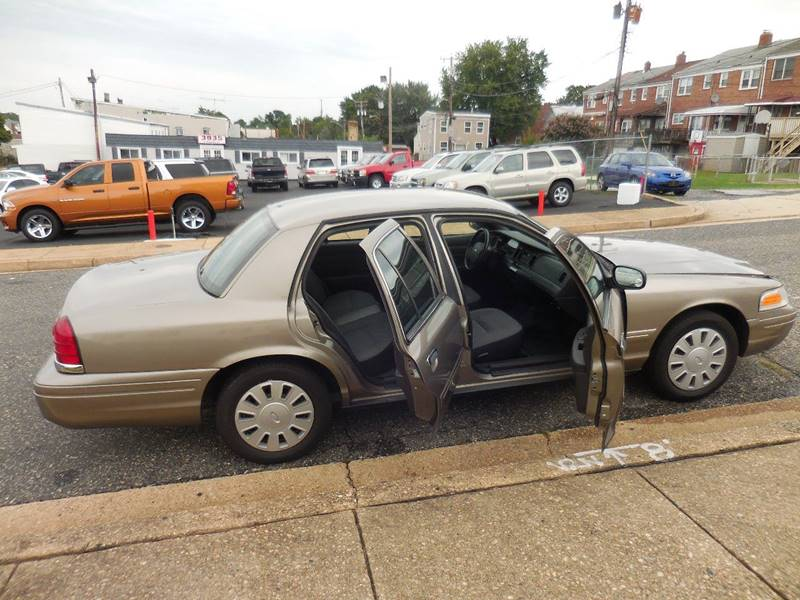 2008 Ford Crown Victoria Police Interceptor 4dr Sedan (3.27 Axle) w/Driver and Passenger Side Air Bags - Baltimore MD