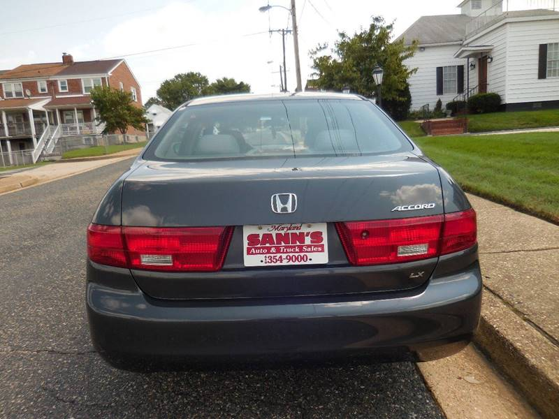 2005 Honda Accord LX 4dr Sedan - Baltimore MD