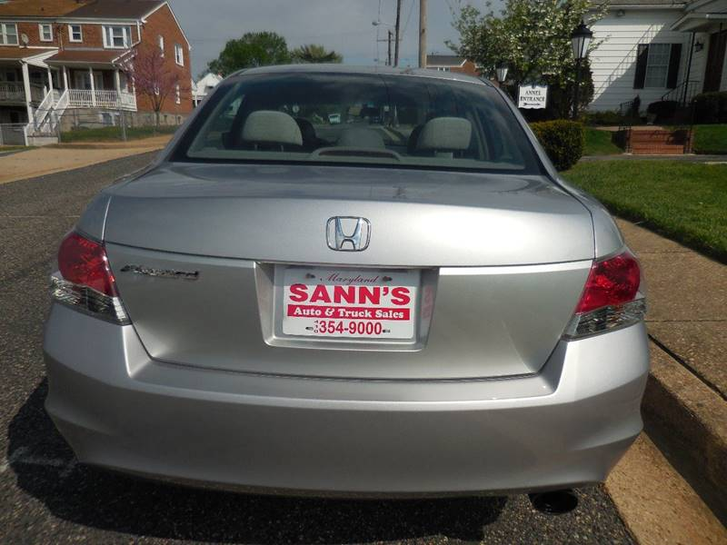 2009 Honda Accord LX-P 4dr Sedan 5A - Baltimore MD