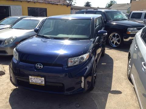 2013 Scion xB for sale at JR'S AUTO SALES in Pacoima CA