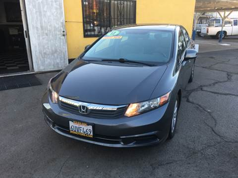 2012 Honda Civic for sale at JR'S AUTO SALES in Pacoima CA