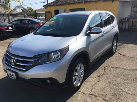 2013 Honda CR-V for sale at JR'S AUTO SALES in Pacoima CA