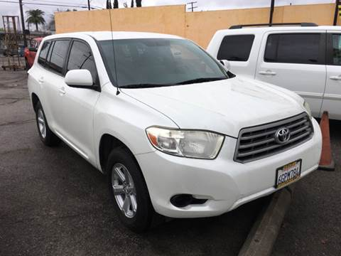 2009 Toyota Highlander for sale at JR'S AUTO SALES in Pacoima CA