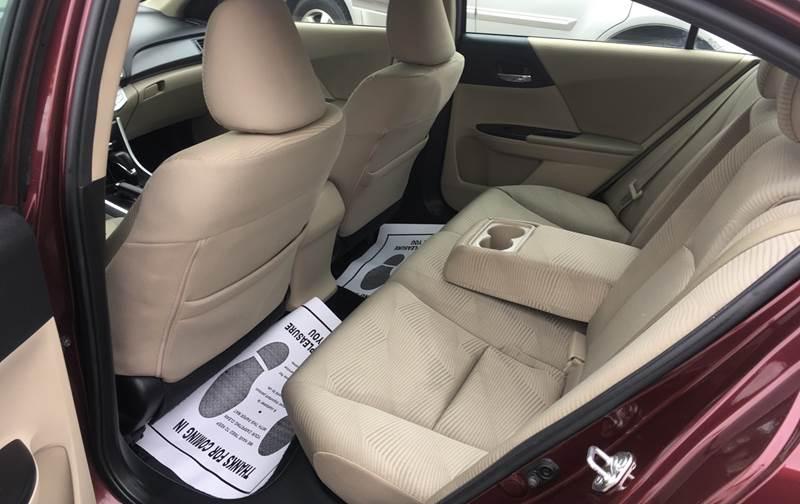 2015 Honda Accord LX 4dr Sedan CVT - Pacoima CA