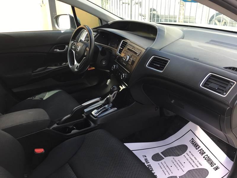 2015 Honda Civic LX 4dr Sedan CVT - Pacoima CA