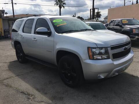 2010 Chevrolet Tahoe LT for sale at JR'S AUTO SALES in Pacoima CA