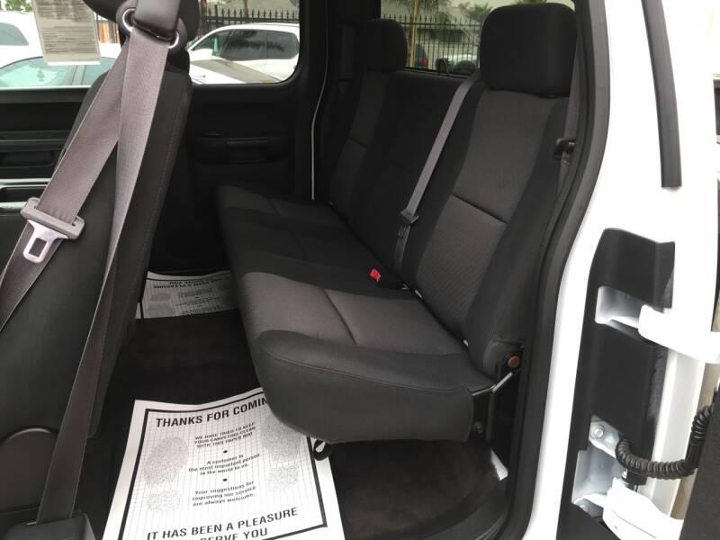 2012 Chevrolet Silverado 1500 4x4 LS 4dr Extended Cab 6.5 ft. SB - Pacoima CA