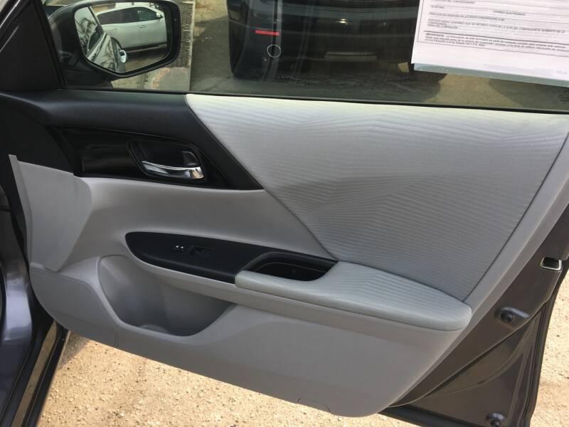 2017 Honda Accord LX 4dr Sedan CVT - Pacoima CA