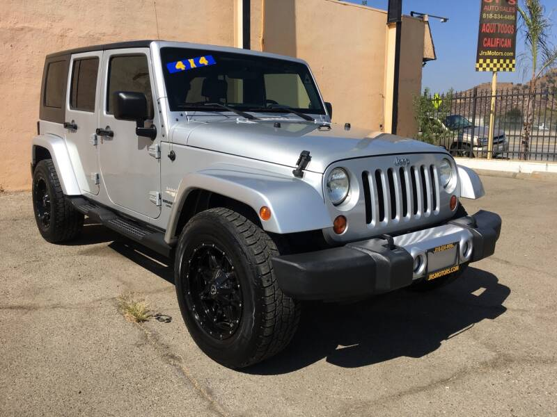 2008 Jeep Wrangler Unlimited 4x4 Sahara 4dr SUV w/Side Airbag Package - Pacoima CA