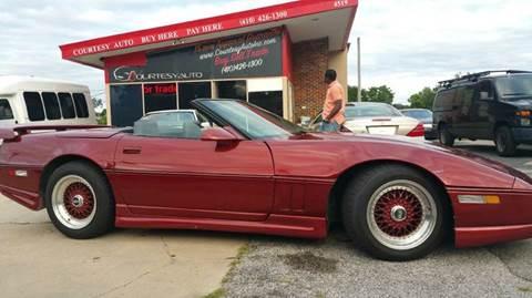 1987 Chevrolet Corvette for sale in Baltimore, MD