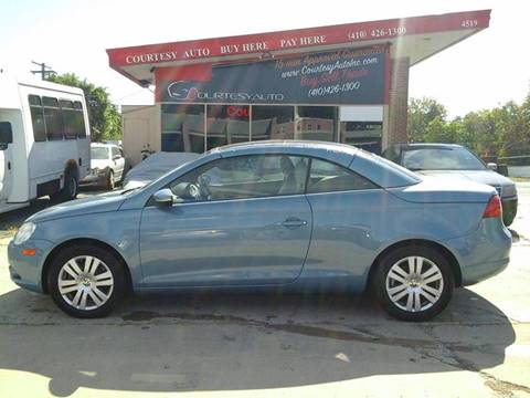 2009 Volkswagen Eos for sale in Baltimore, MD