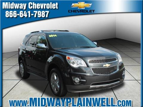 2014 Chevrolet Equinox for sale in Plainwell MI