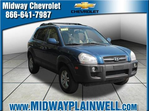 2007 Hyundai Tucson for sale in Plainwell MI