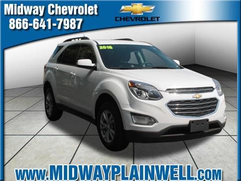 2016 Chevrolet Equinox for sale in Plainwell, MI