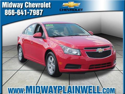 2014 Chevrolet Cruze for sale in Plainwell, MI