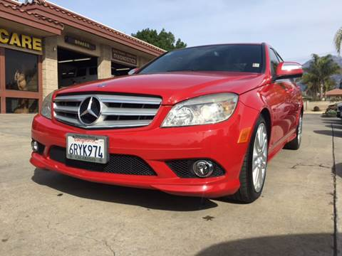 Used 2008 mercedes benz c class for sale in california for 2008 mercedes benz c class for sale